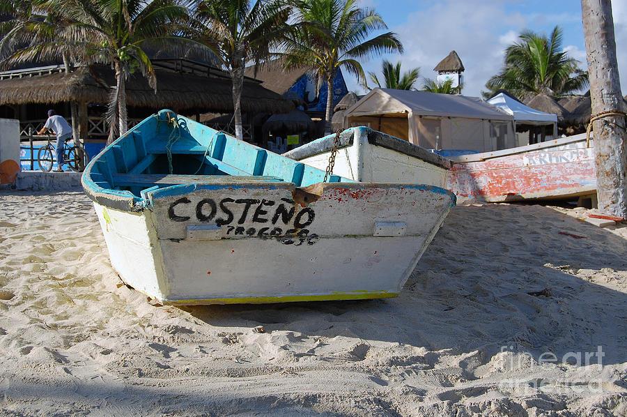 Progreso Photograph - Progreso Mexico Fishing Boat by Shawn OBrien