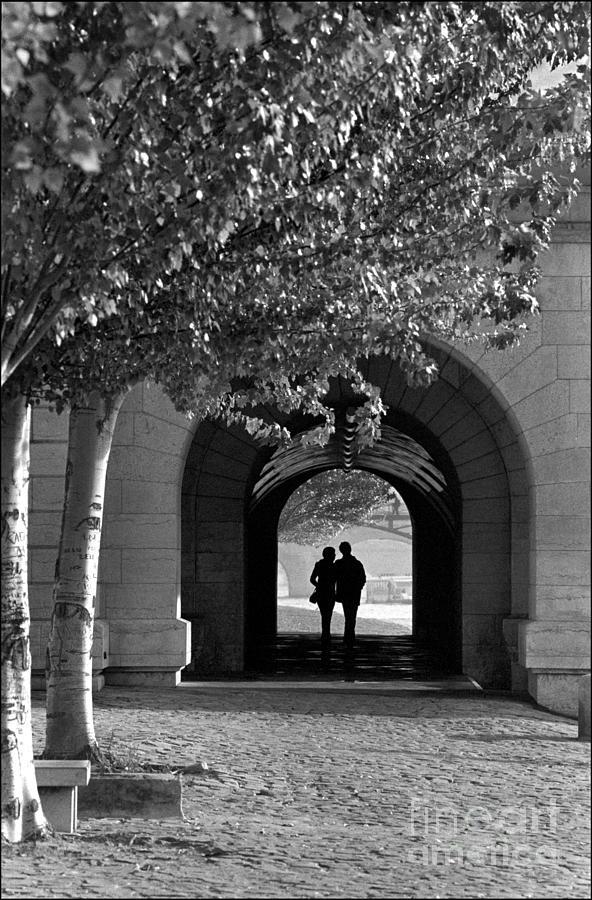 Promenade Photograph - Promenade sur la Sein by Aldo Cervato