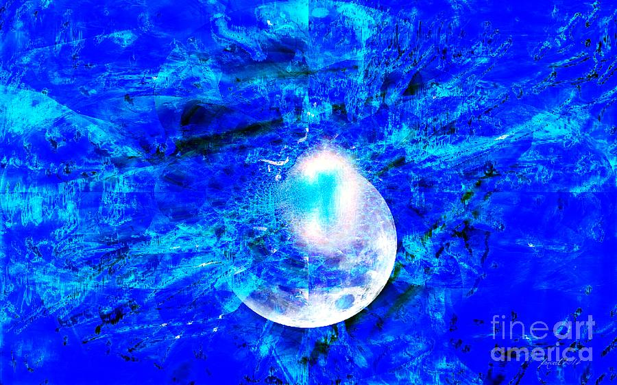 Fania Simon Digital Art - Prophecy - The Second Coming of the Lord by Fania Simon