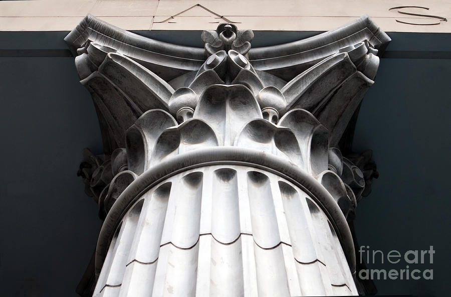 Architecture Photograph - Proud Pillar by Dan Holm