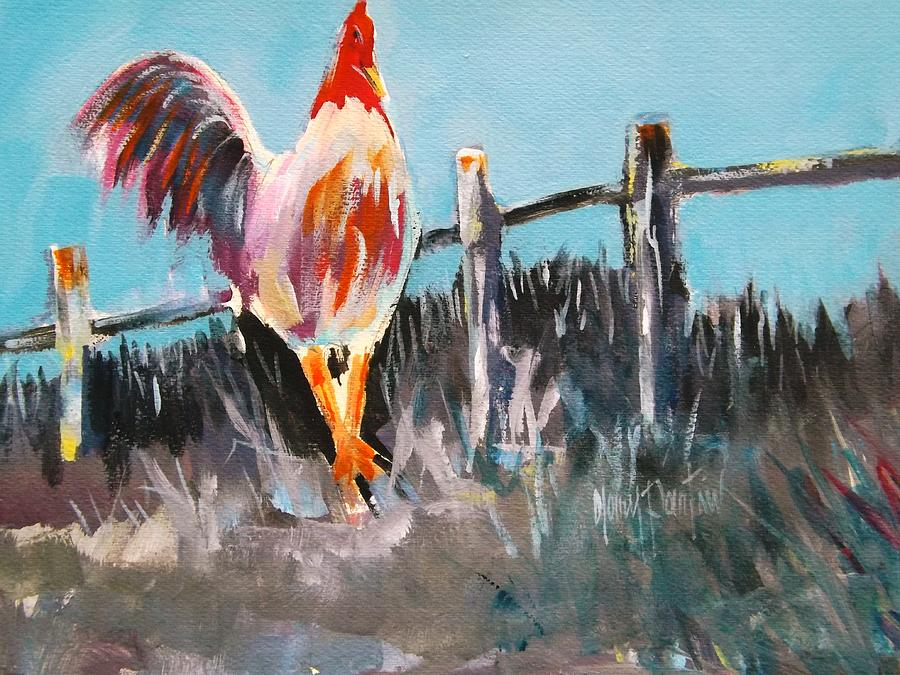 Proud Rooster  by Gary Partin