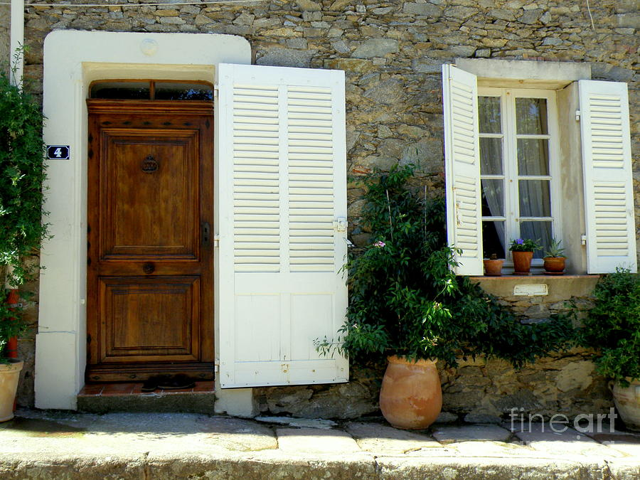 Doors And Windows Photograph - Provence Door Number 4 by Lainie Wrightson