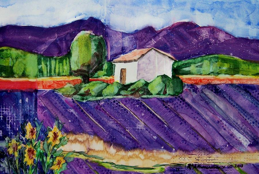 Provence Painting - Provence by Regina Ammerman