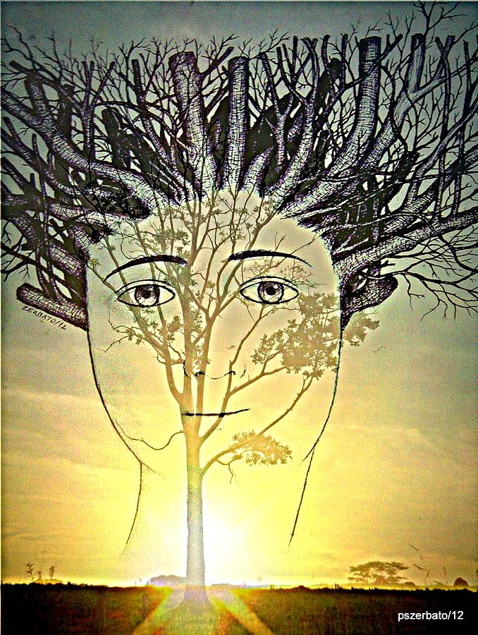 Pruning Digital Art - Prune Early All The Questions by Paulo Zerbato