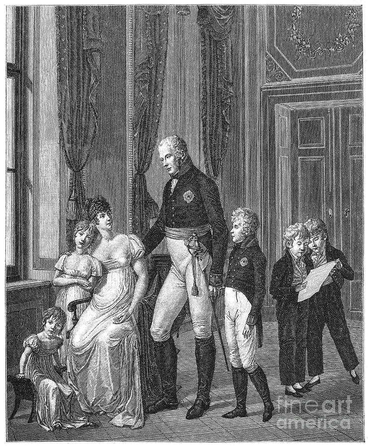 1807 Photograph - Prussian Royal Family, 1807 by Granger