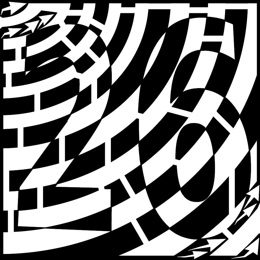 illusion optical maze frimer yonatan drawing artist psychedelic drawings 31st uploaded which