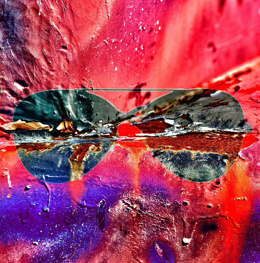 Animals Framed Prints Photograph - Psychedelic Spectacle  by Jerry Cordeiro