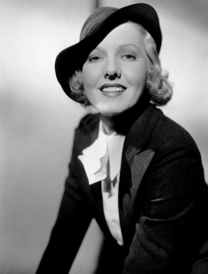 1930s Movies Photograph - Public Hero 1, Jean Arthur, 1935 by Everett
