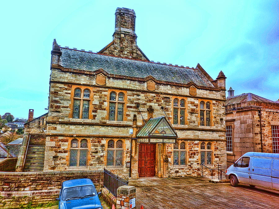Bodmin Photograph - Public Rooms by Mandy Jayne