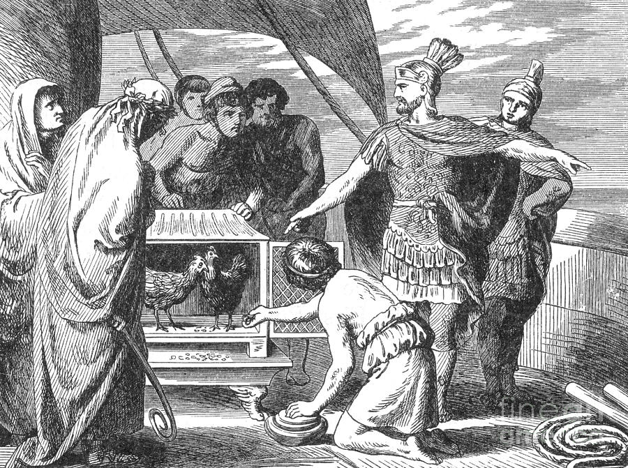 History Photograph - Publius Claudius Pulcher And The Sacred by Photo Researchers