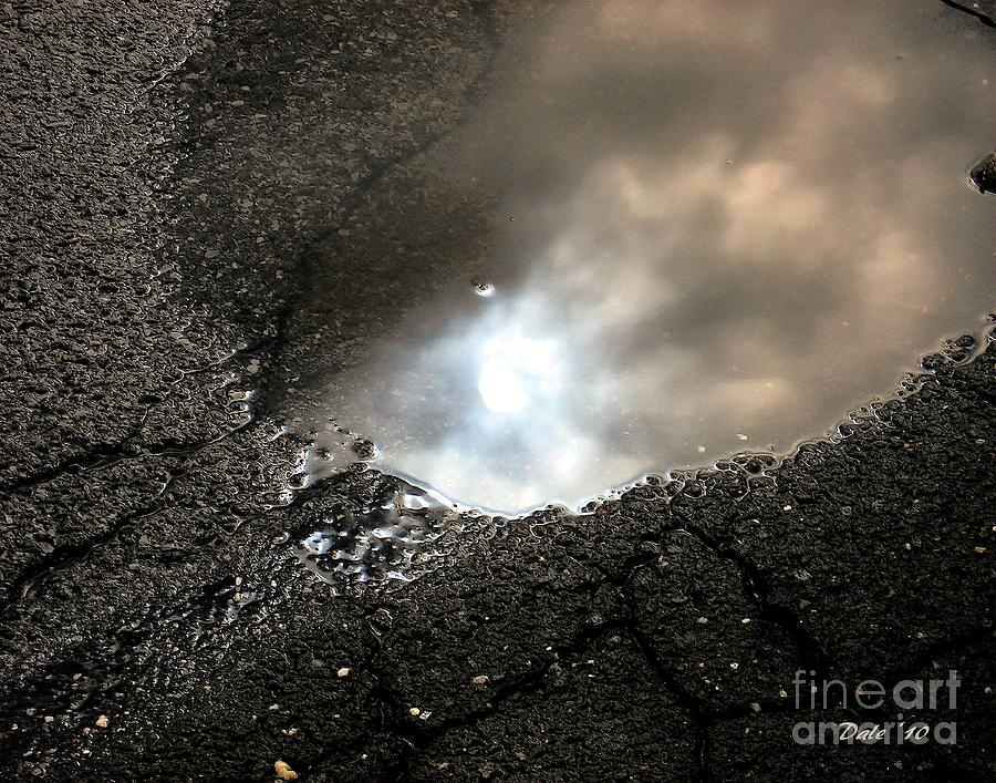 Puddles Digital Art - Puddle Art 7 by Dale   Ford