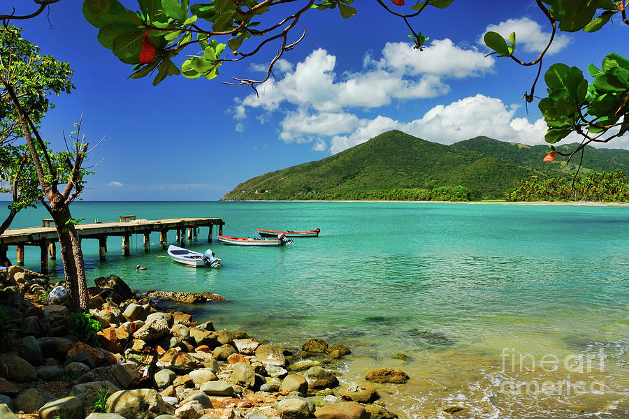 Atlantic Photograph - Puerto Manuabo 1 - Puerto Rico by JH Photo Service