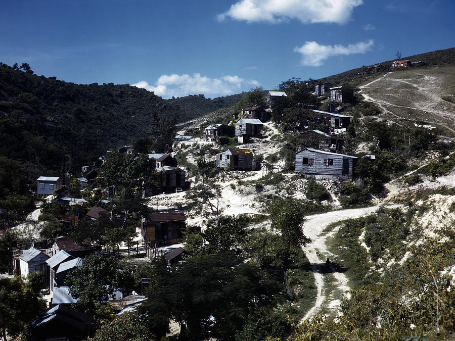 1930s Photograph - Puerto Rico. A Town In Puerto Rico by Everett