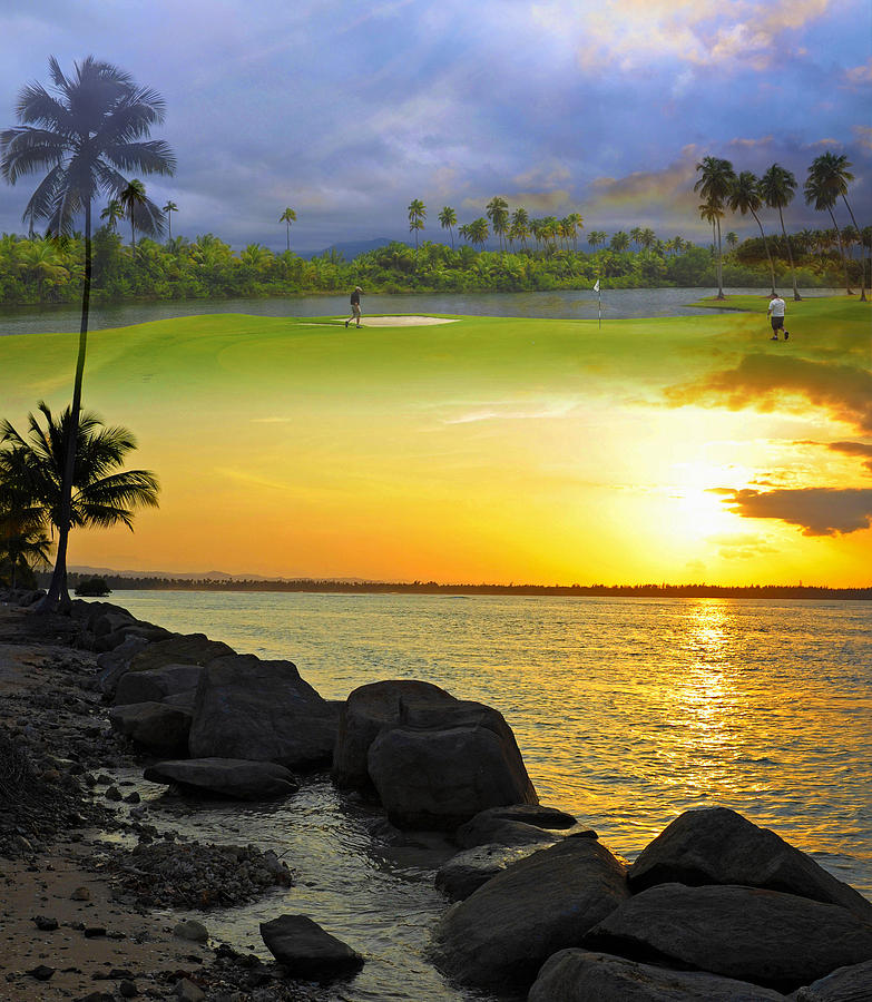 Tropical Photograph - Puerto Rico Montage 3 by Stephen Anderson