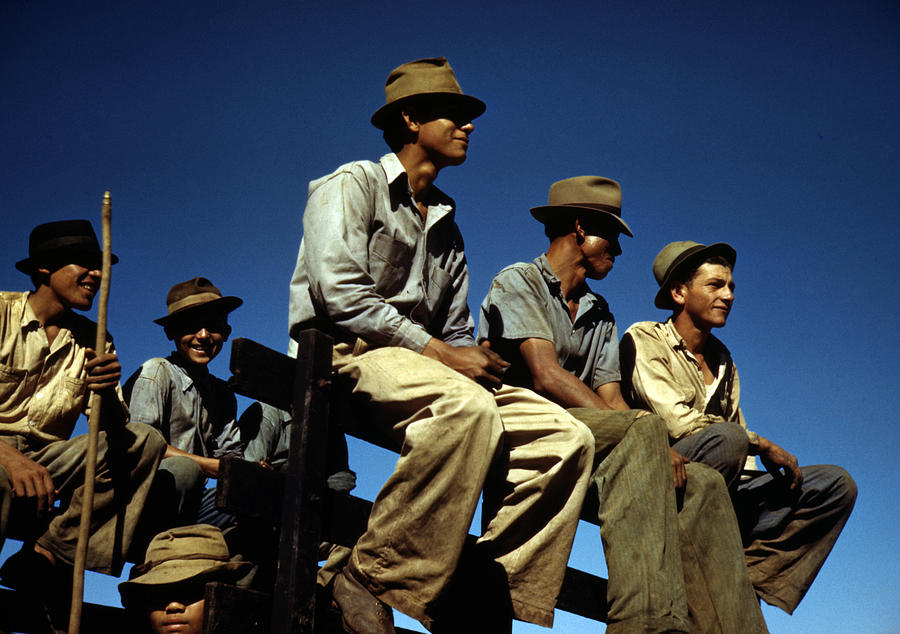 1930s Photograph - Puerto Rico. Sugar Cane Workers Resting by Everett