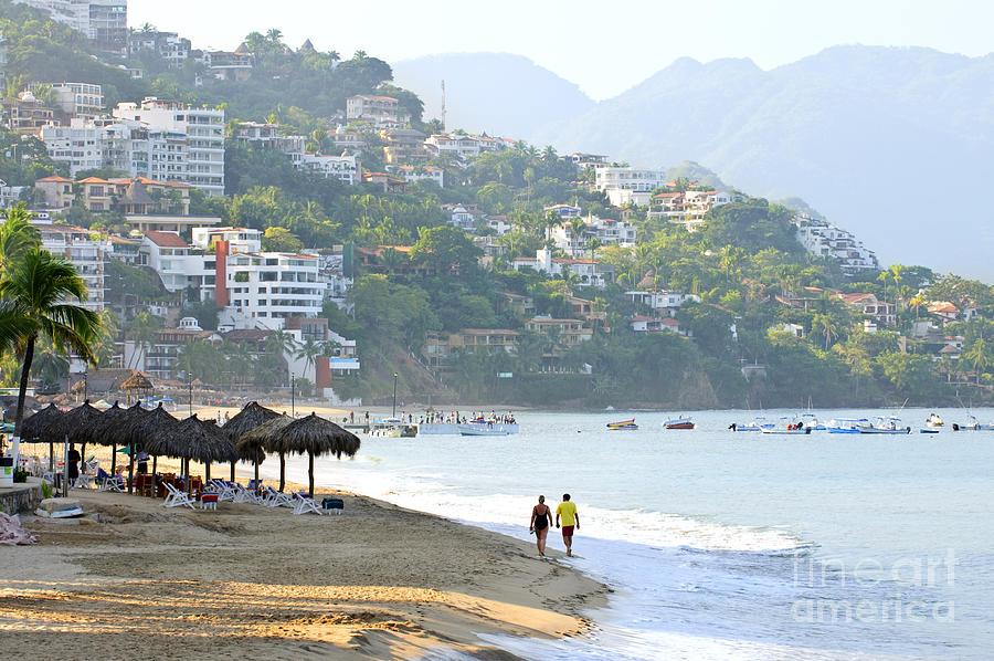 Beach Photograph - Puerto Vallarta Beach by Elena Elisseeva