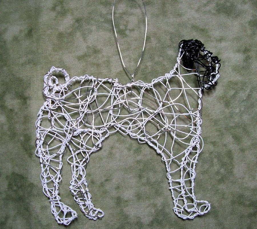 Dog Sculpture - Pug by Charlene White