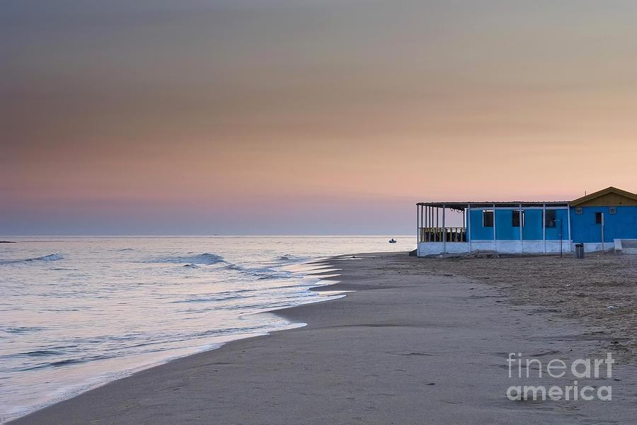 Island Photograph - Punta Secca Sunset by Roberto Bettacchi