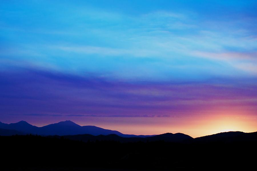 Sunset Photograph - Purple Evening  by Kevin Bone