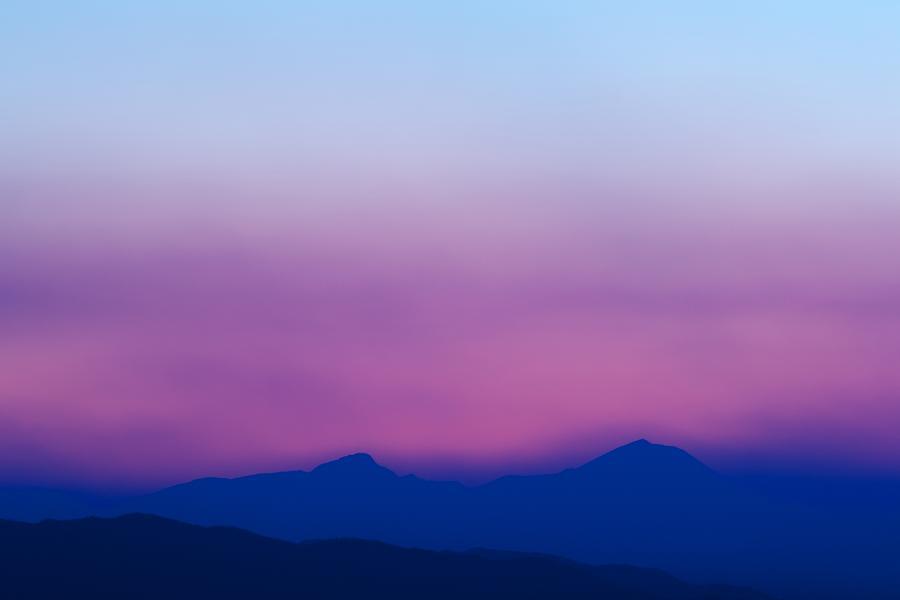Sunset Photograph - Purple Haze by Kevin Bone