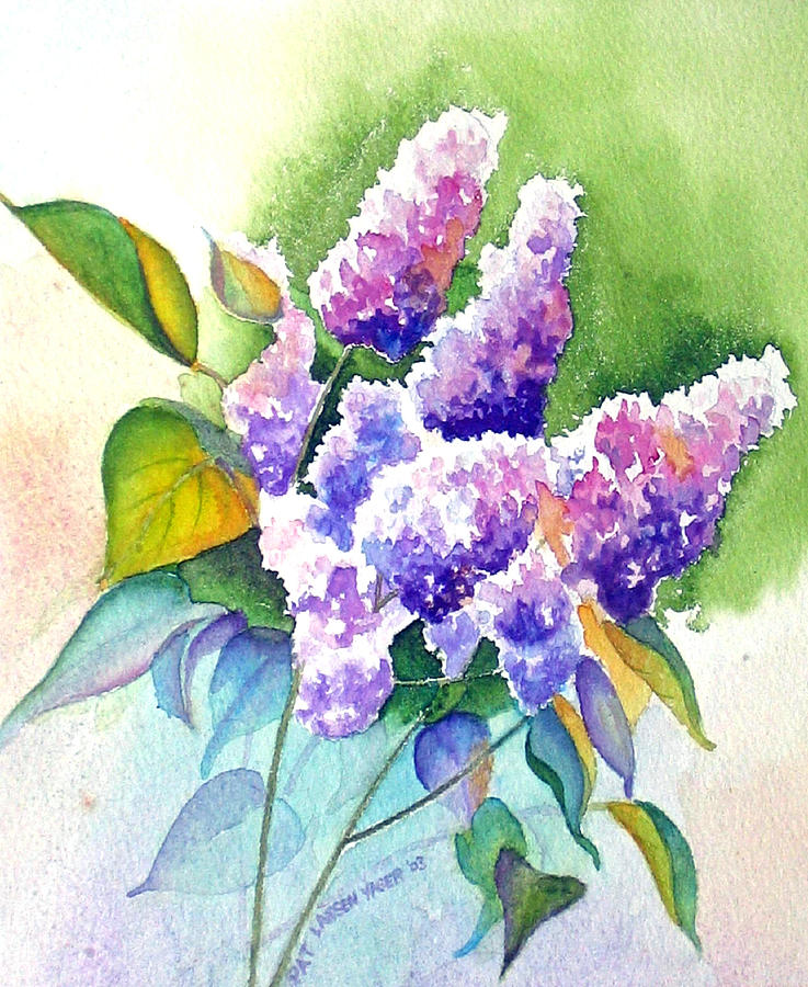 How To Paint Lilac In Acrylic
