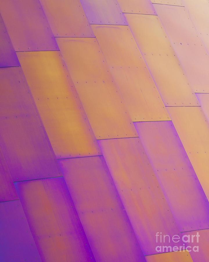 Purple Photograph - Purple Orange I by Chris Dutton