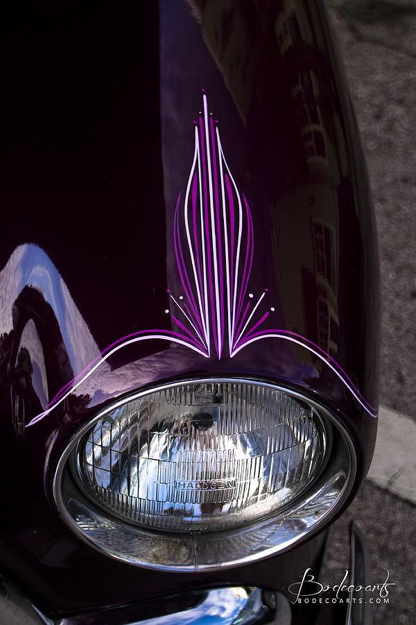Lewis Auto Sales >> Purple Pinstripe Photograph by Robin Lewis