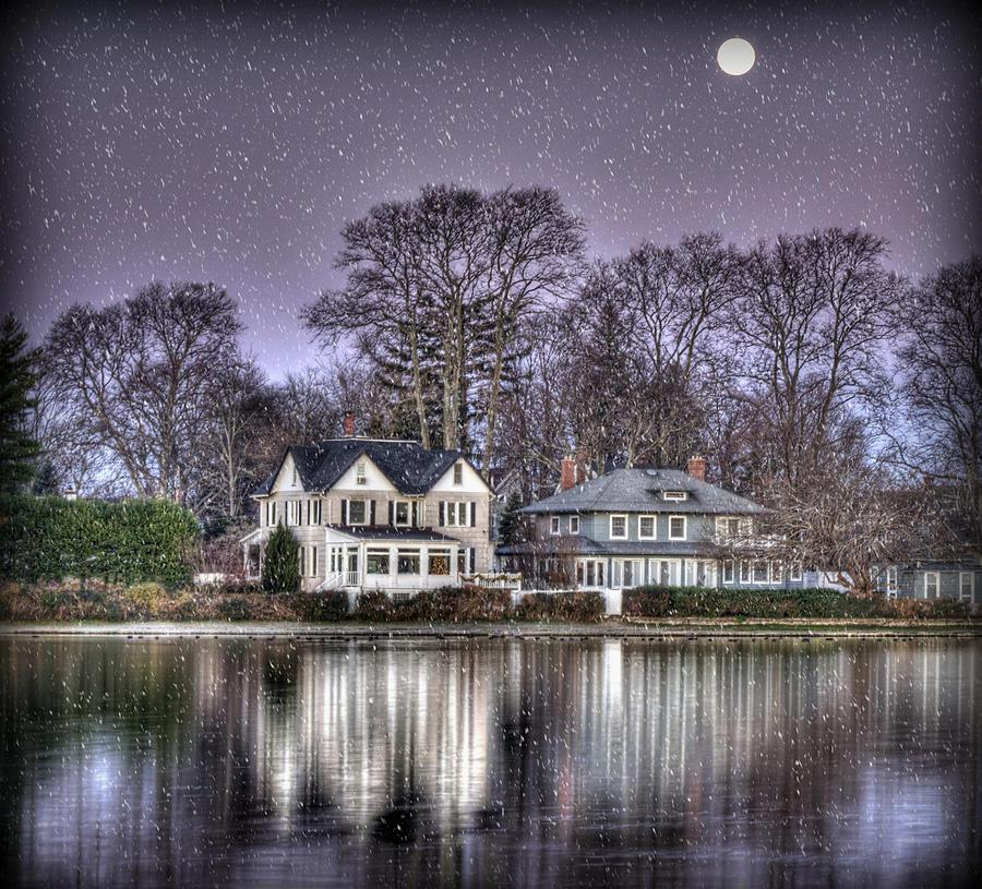 Purple Photograph - Purple Snow by Vicki Jauron