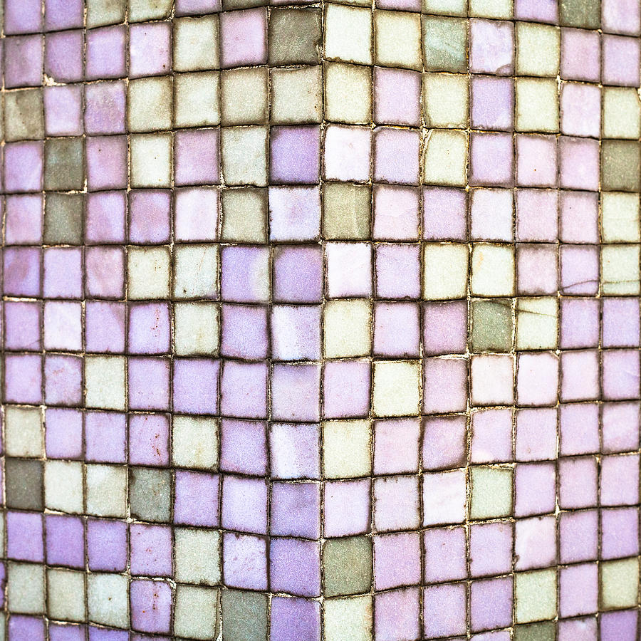 Apartment Photograph - Purple Tiles by Tom Gowanlock