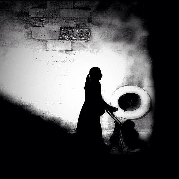 Noir Photograph - Push It Along by Robbert Ter Weijden