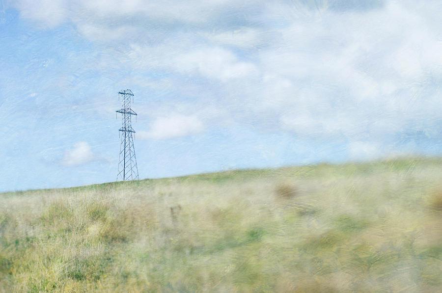 Horizontal Photograph - Pylon by Jill Ferry