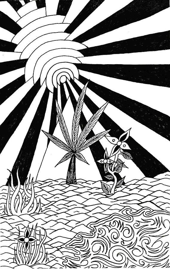 Drawing Drawing - Pyramid by Andrew Padula