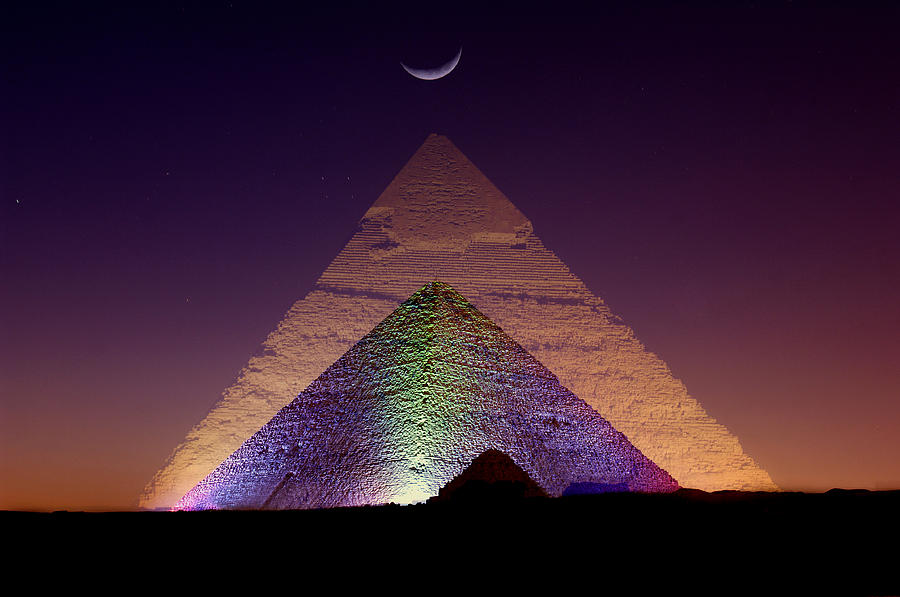 Pyramid Photograph By Christian Heeb