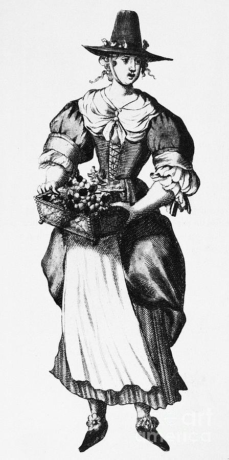 17th Century Photograph - Quaker Woman, 17th Century by Granger
