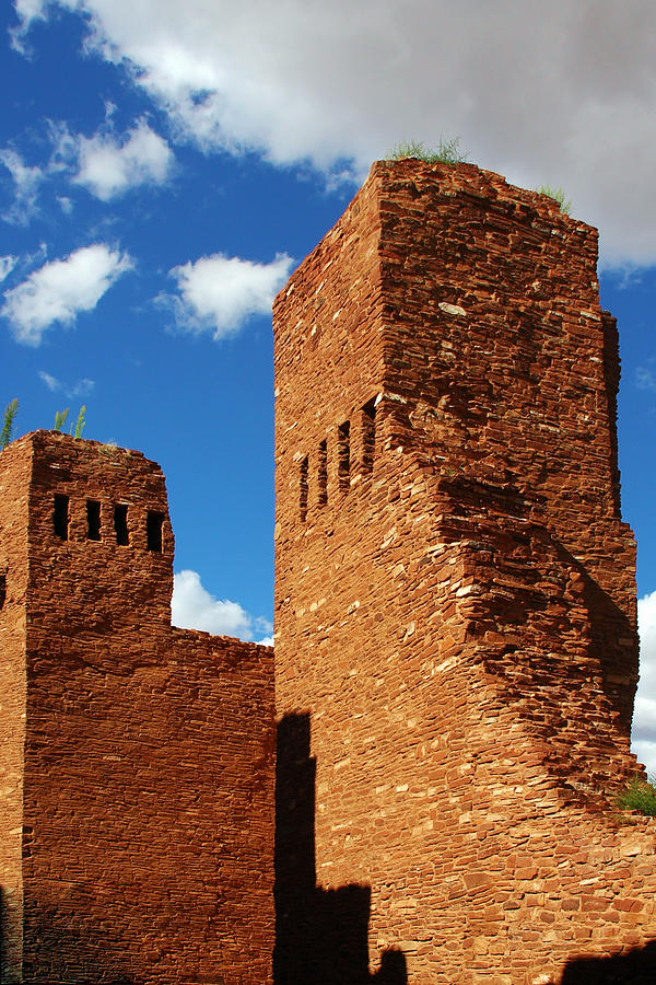 Albuquerque Photograph - Quarai Salinas Pueblo Missions National Monument by Christine Till
