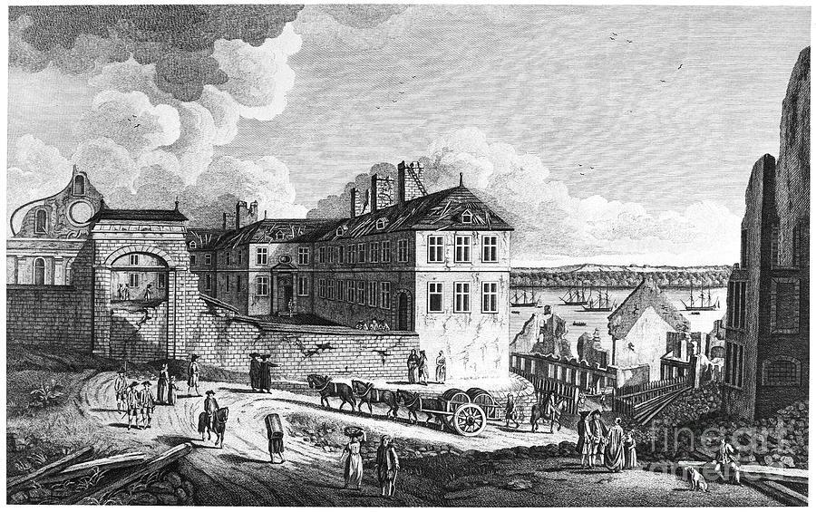 1761 Photograph - Quebec: Ruins, 1761 by Granger