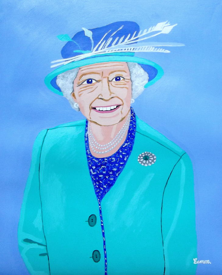 Queen Elizabeth Ii Painting - Queen Elizabeth II by Eamon Reilly