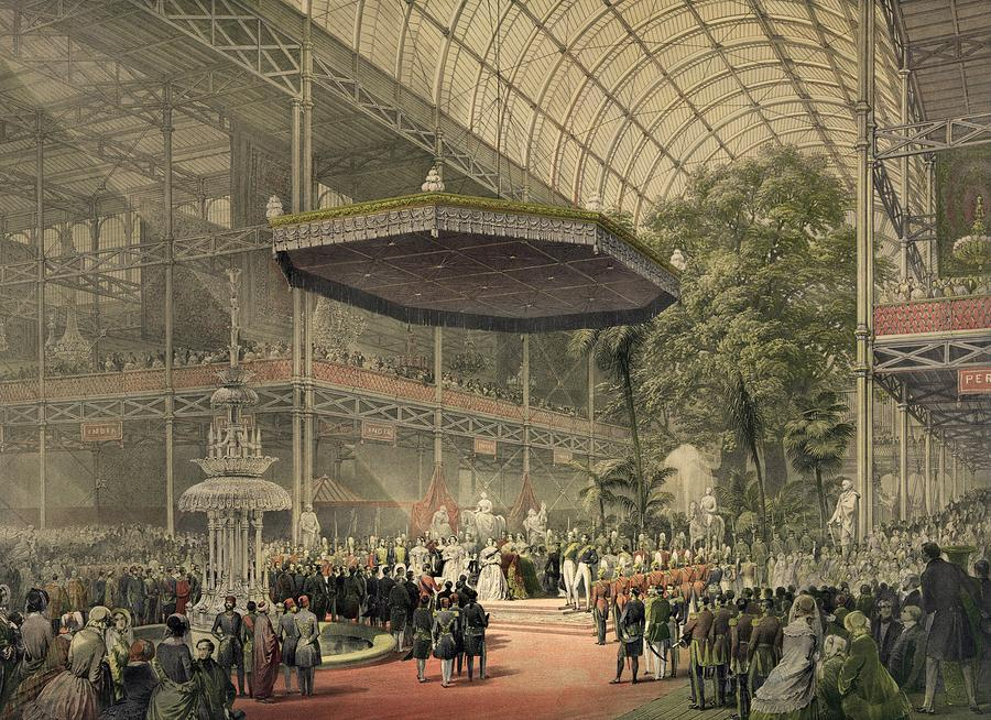 History Photograph - Queen Victoria Presides At The State by Everett