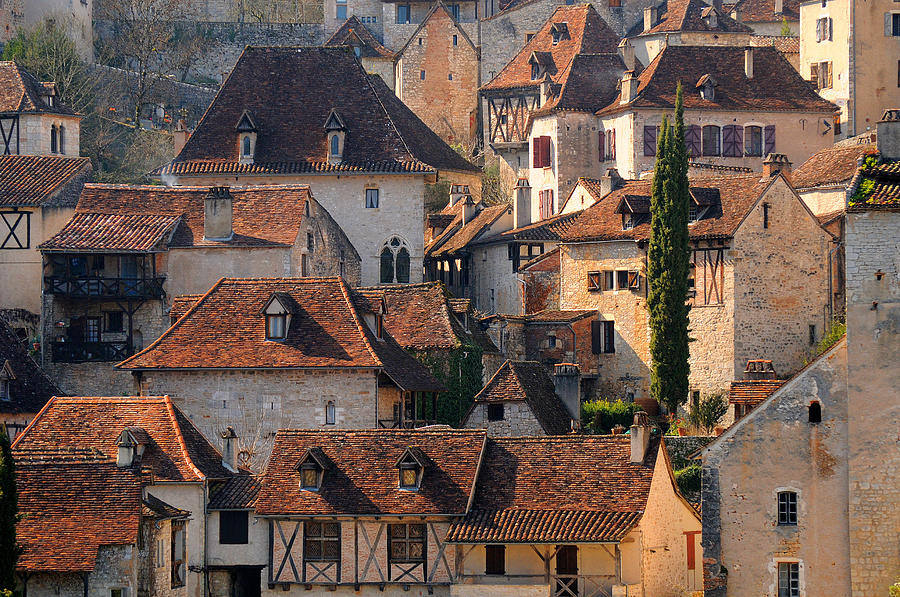 Horizontal Photograph - Quercy by Copyrights by Sigfrid López