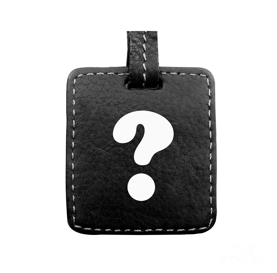 Question Photograph - Question Mark by Blink Images
