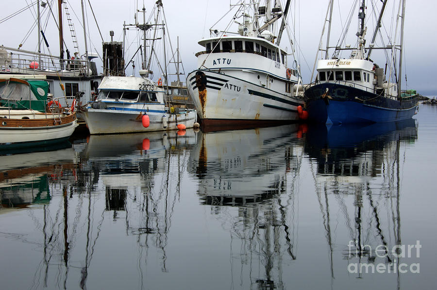 Fishing Boats Photograph - Quiet Time by Bob Christopher