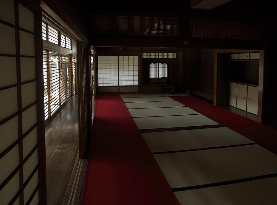 Zen Photograph - Quietude Of Zen Meditation Room - Kyoto Japan by Daniel Hagerman