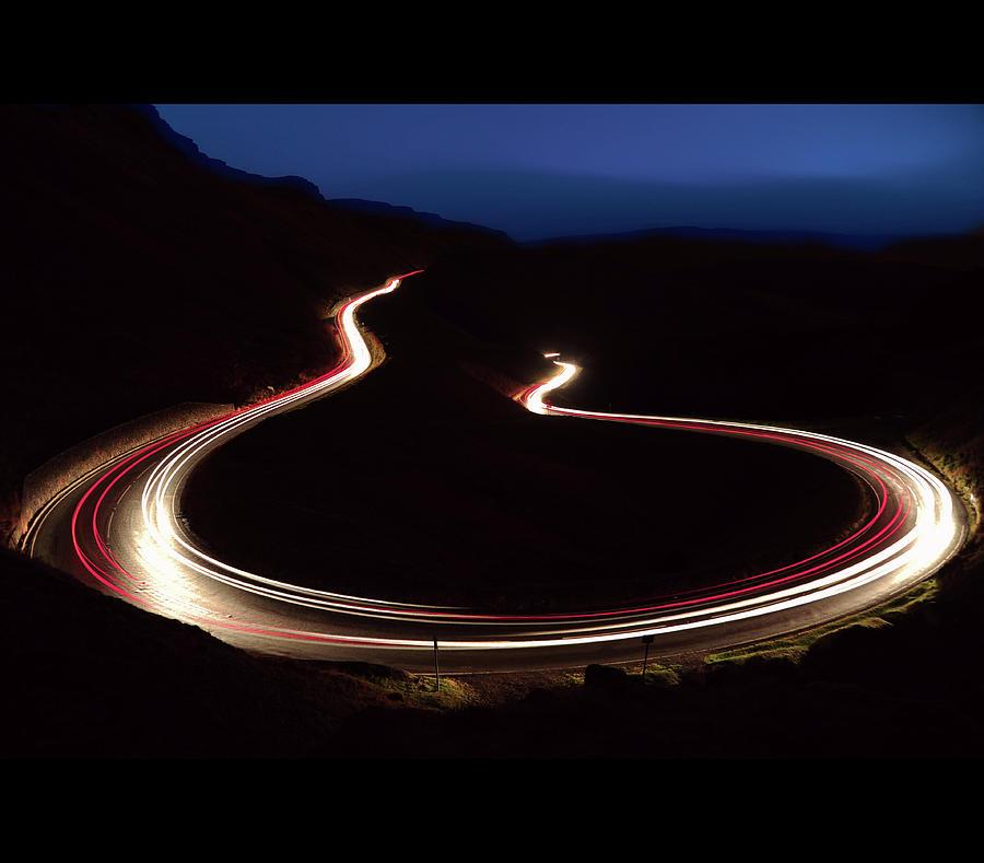 Horizontal Photograph - R H O N D D A  V A L L E Y  R O A D S by C T Aylward
