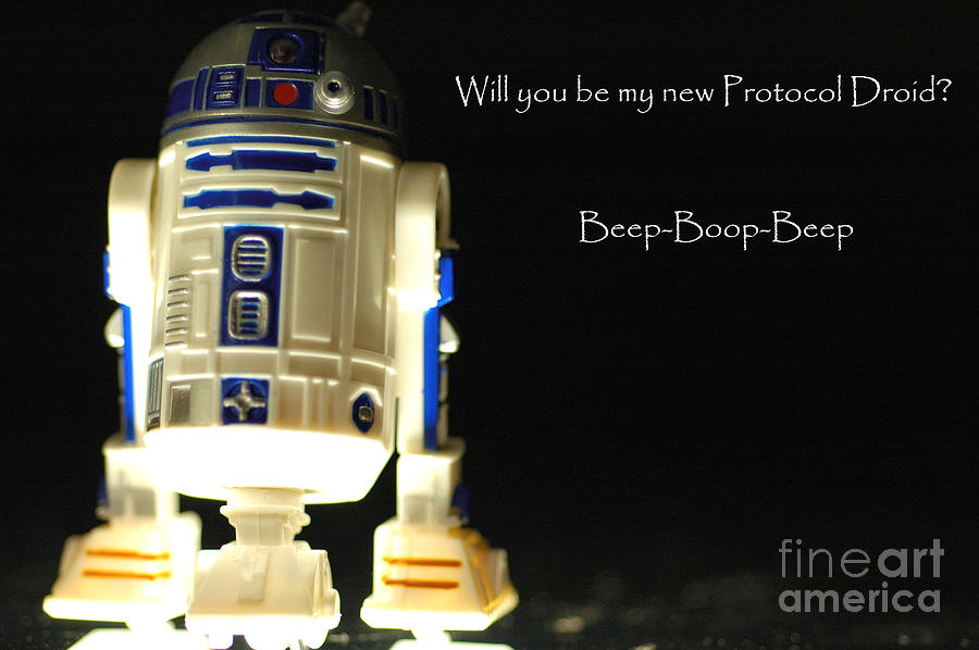 R2d2 card photograph by micah may r2d2 photograph r2d2 card by micah may bookmarktalkfo Choice Image