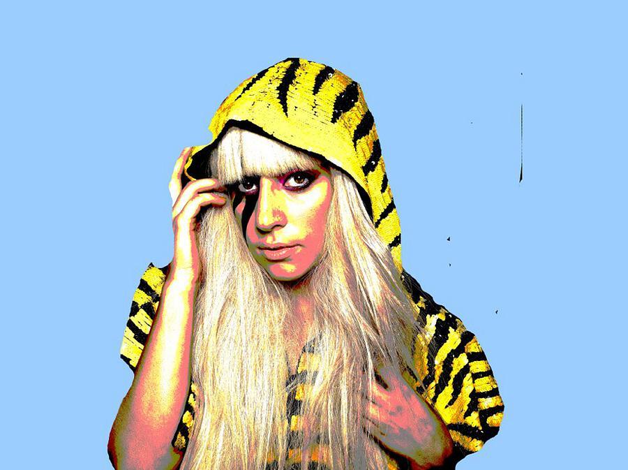 Lady Gaga Digital Art - Ra Ra  by Chandler  Douglas