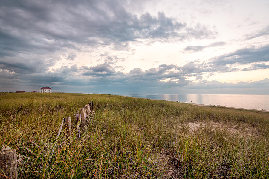 Race Point Photograph - Race Point At Sunset by Linda Pulvermacher
