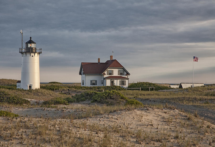 Usa Photograph - Race Point Lighthouse by Nicholas Palmieri