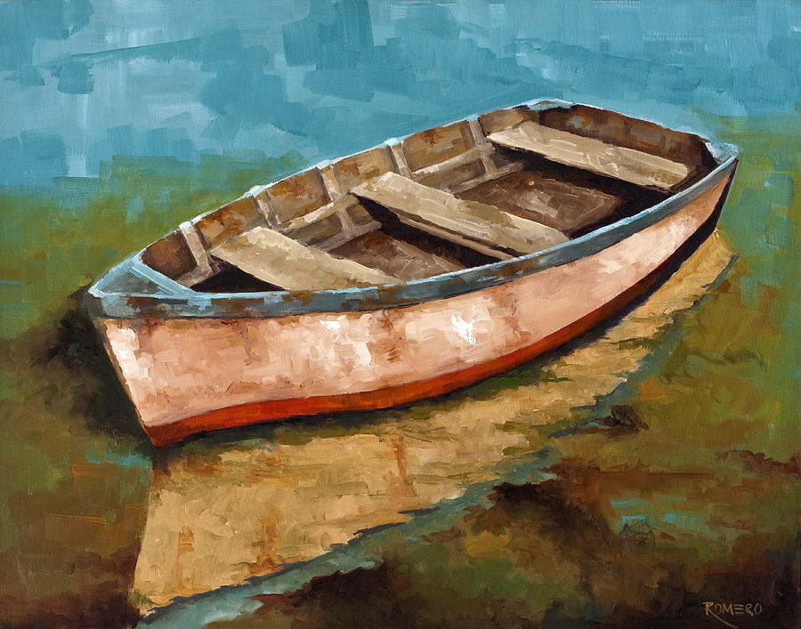 Botes Painting - Racien Llegado by Jose Romero