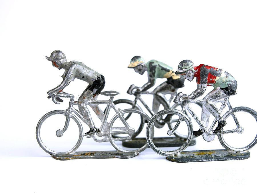 Leaders Photograph - Racing Cyclist by Bernard Jaubert