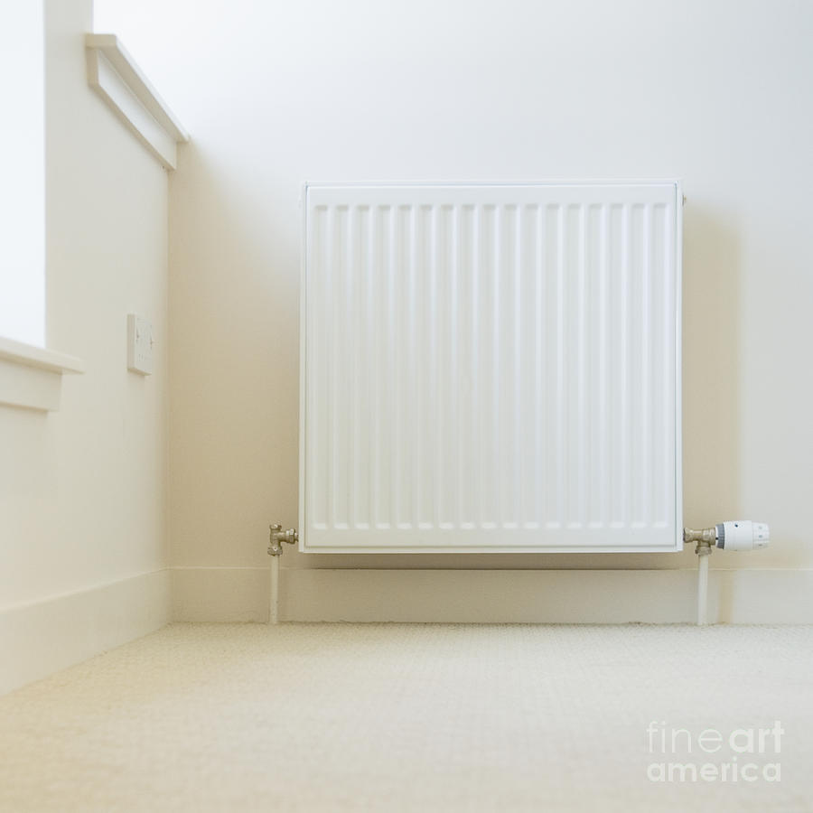 Radiator In Modern Home Photograph by Iain Sarjeant